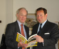 Peter Lilley with Ed Vaizey